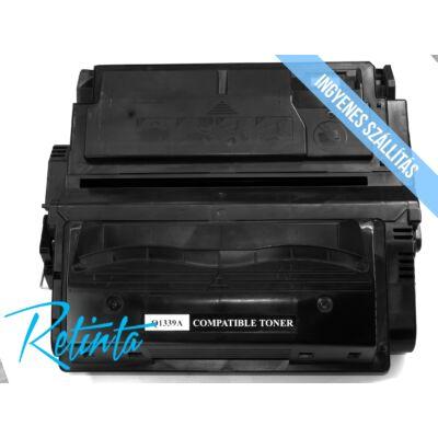 HP Q1339A (HP 39A) Retinta fekete 18000 Oldal