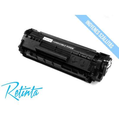 HP Q2612X (HP 12X) Retinta fekete 3000 Oldal
