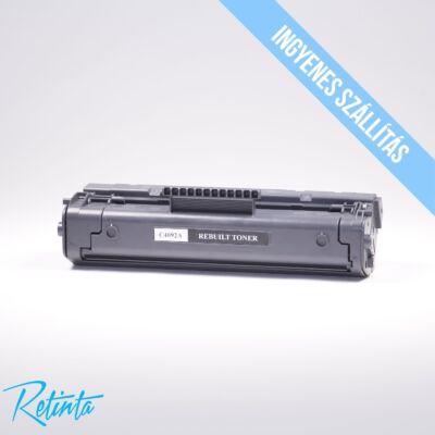 HP C4092A (HP 92A) Retinta fekete 2500 Oldal