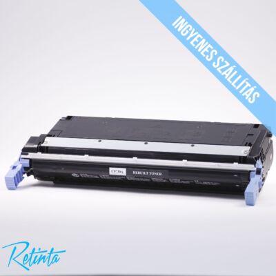 HP C9730A (HP 645A) Retinta fekete 13000 Oldal