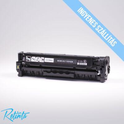 HP CC530A (HP 304A) Retinta fekete 3500 Oldal
