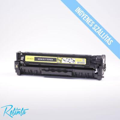 HP CE412A (HP 305A) Retinta sárga 2600 Oldal