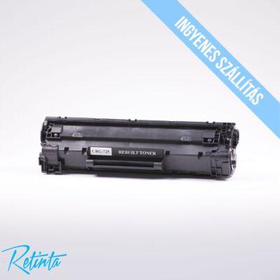 Canon CRG725 Retinta fekete 1600 Oldal