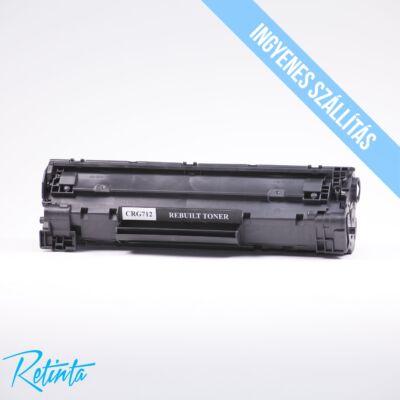 Canon CRG712 Retinta fekete 1000 Oldal