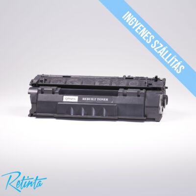 HP Q5949A (HP 49A) Retinta fekete 2500 Oldal