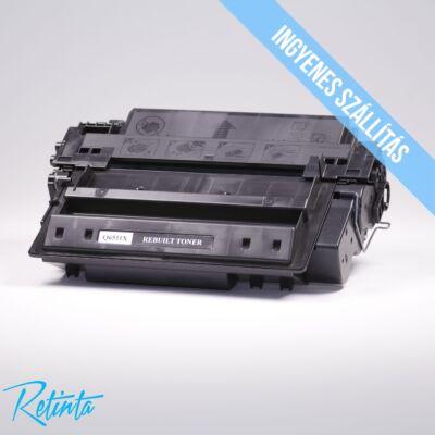 HP Q6511X (HP 11X) Retinta fekete 12000 Oldal