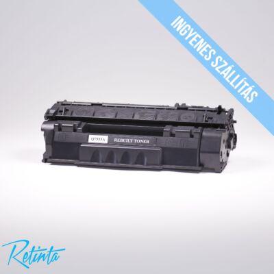 HP Q7553A (HP 53A) Retinta fekete 3000 Oldal